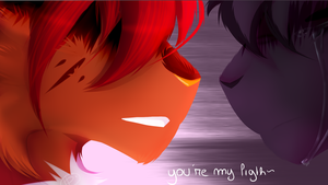 you're my light by Hidden-Paaws