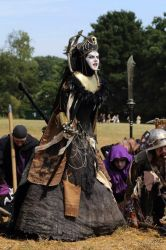 Episcorpa [costume] Mythodea 2015 by L0u1sa