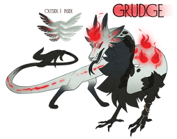 Grudge Dracokai - Auction (CLOSED) by GentleLark