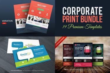 Corporate Print Bundle by hugoo13