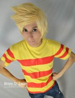 Lucas - EarthBound / Super Smash Bros Series - 01 by briste