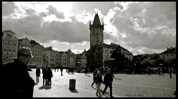Prague Old Town Square by expellian13