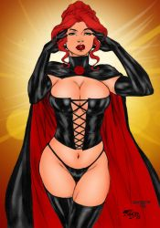 Black Queen By Fred Benes by winchester01