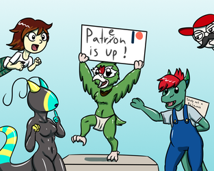 Patreon is up by Deliveredmean42