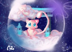 Mew by magicwingsforever