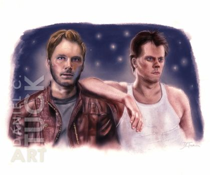 The Hero Kevin Bacon by dctuck