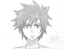 Gray Fullbuster - Fairy Tail by Saralil