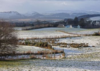 Conon Farm in early spring by piglet365
