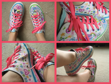 Sharpie n Converse 2 by Squeemishness
