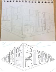 Perspective Practice: Example 1 by greenstar2001
