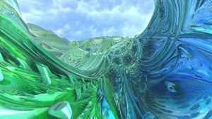 Green and Blue Tides by Dr-Pen