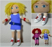 Giana Sisters: Twisted Dreams cute Giana doll by Ravenlordess