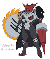 Dukemon XW Sketch by Midnitez-REMIX