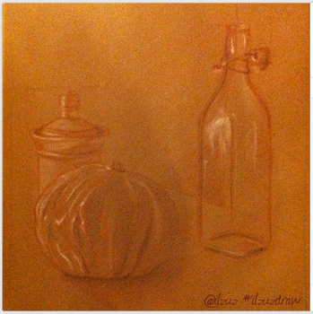 Sugar, pumpkin, bottle by ilzuz