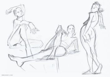 Life drawing 16-11-2015 by snow-j