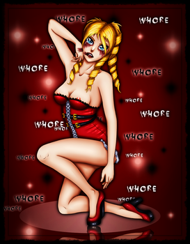 I can be your Whore.. by TerraShepard