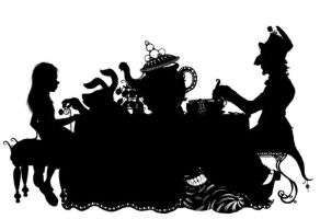 The Mad Hatter's Tea Party by wedgielou