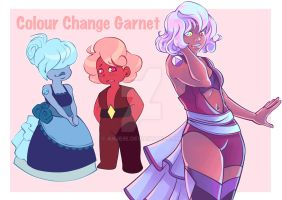 Colour Change Garnet Fusion Sheet by anjeIIe