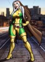 Rogue X-men by darkshadowartworks