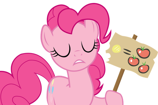 Pinkie Pie sort out by JoeMasterPencil