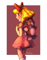 Paula Polestar - Bear Bag by Amphibizzy