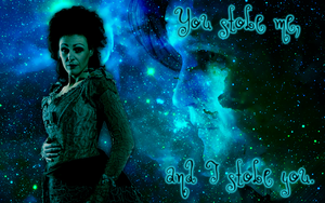 Idris and Eleventh Doctor widescreen wallpaper by Leda74