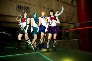 SM :: The Outer Senshi by AnimosityCosplay