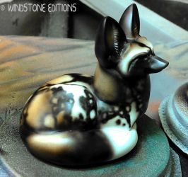 African wild dog test paint by Reptangle