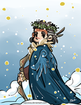 Hobbit - Bard the Snow King by caycowa