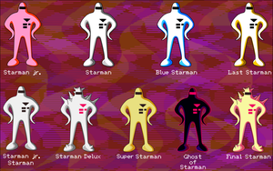 Starmen of EarthBound by Doctor-G