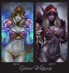 Sylvanas. Bebore and After by Prywinko