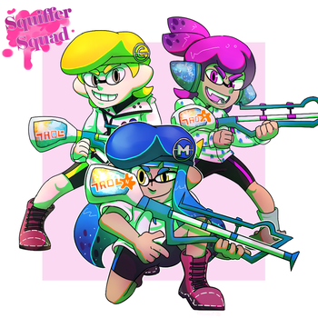 Squiffer Squad by lilowoof