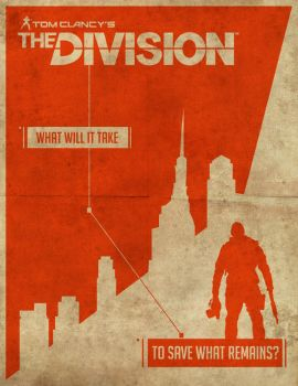 Tom Clancy's The Division - Fan Poster by RyanRitterbusch