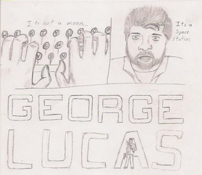 George Lucas  Alan Wake parody by LarkSevenZero