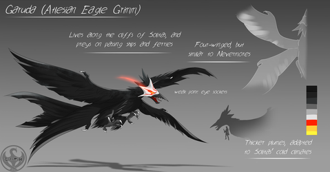LUNAverse Fanon - Grimm Eagle by Lightning-in-my-Hand