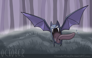 Golbat, the October pokemon