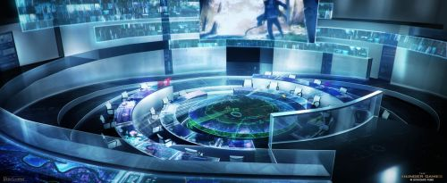 Hunger Games - Control Room by Rahll