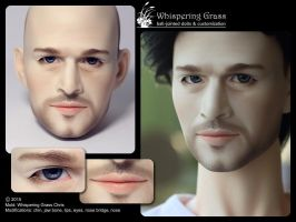 Whispering Grass Chris faceup by scargeear