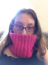 Very Warm Wooly Cowl by Sassafras1560