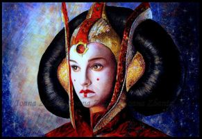 Queen Amidala Finished by LilDevilAriel