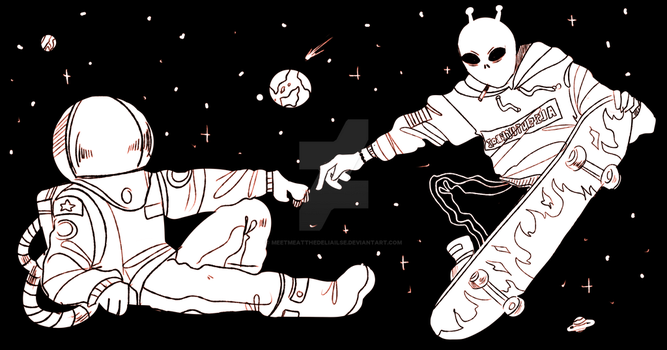 space dudes by meetmeatthedeliailse
