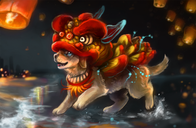 Year of the Dog by Foxeaf