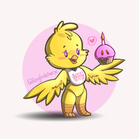 Chica the Chicken by FallingWaterx