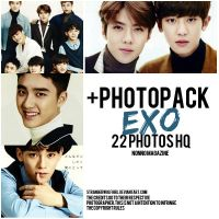 +EXO {Photopack} by StrangerWolfGirl