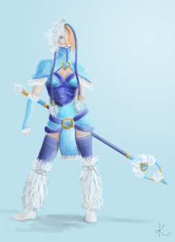 Crystal Maiden by sofoolkate