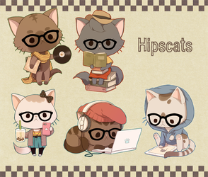 Hipscats by meago