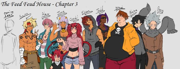 The Feed Feud House - Chapter 3 by ProjectChained
