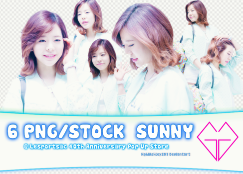 [PNG PACK #8] 6 PNG/STOCK SUNNY by NghiAshley201