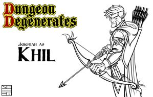 Dungeon and Degenerates Khil Character Design by IADM
