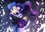 Sci Twi and Flash Sentry_Kiss by jucamovi1992
